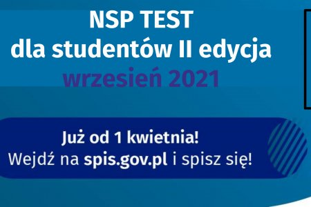 Konkurs NSP Test Student