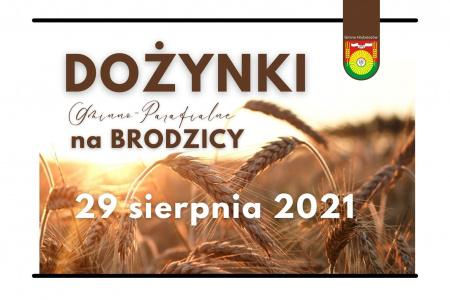Dożynki Gminno-Parafialne w Brodzicy